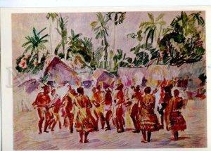 d153535 OCEANIA Papua New Guinea Village Bongu Holiday Dance
