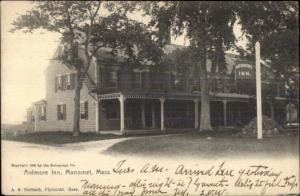 Manomet Plymouth MA Ardmore Inn c1910 Postcard