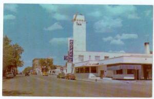 Sonoma Inn & Street Scene, Winnemucca, Nevada, NV, Plastichrome Chrome