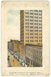 Tennessee Trust Building, Memphis, Tennessee, 1910