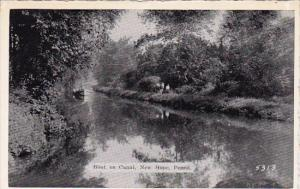 Pennsylvania New Hope Boat On Canal Dexter Press