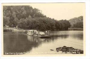 RP  Car Ferry, Cumberland River, Cumberland State Park. Kentucky, 30-40s