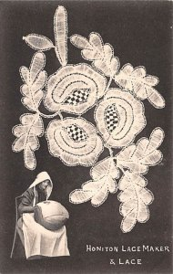 Honiton Lace Maker & Lace Lace Embroidery Unused