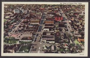 Bird's Eye View,Ponca City,OK Postcard