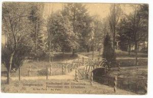 Hoogstraeten , Belgium, PU-1910s, In het Park