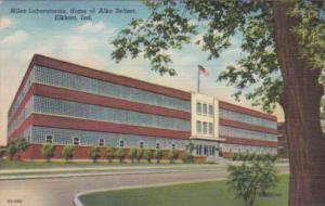 Indiana Elkhart Miles Laboratories Home Of Alka Seltzer Curteich