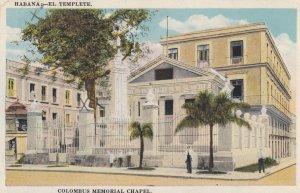 Havana , Cuba , 1922 ; Colombus Memorial chapel