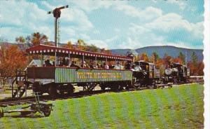 White Mountain Railroad At Clarks Trading Post Lincoln New Hampshire