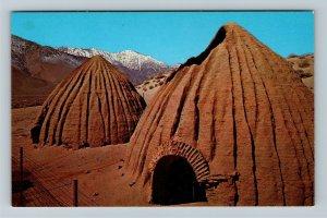 Olancha, CA-California, The Charcoal Kilns, Chrome Postcard