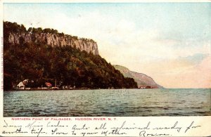 New York Hudson River Northern Point Of Palisades 1906