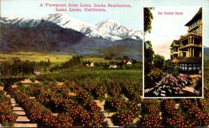 California Loma Linda Viewpoint From Loma Linda Sanitarium