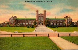 Missouri St Louis Wasington University