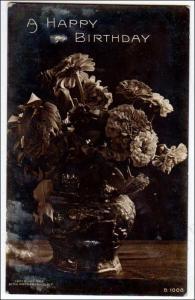 RPPC - Birthday Flowers