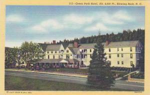 Green Park Hotel, Blowing Rock, North Carolina, 30-40s