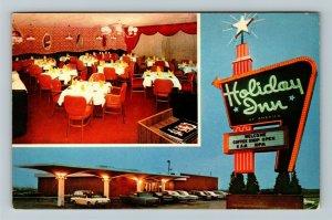 Richmond KY-Kentucky, Holiday Inn Advertising, Chrome Postcard