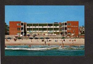 MD Sea Scape Motel Ocean City Maryland Postcard