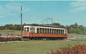 Car 4220 NYC Third Avenue Railway now at Trolley Museum near Layhill Maryland