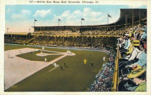 USA - White Sox Baseball Grounds - Chicago - 04.09