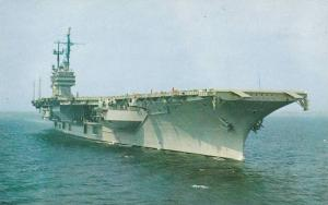 U.S.S. Saratoga, One of the Mightiest Warships in the World, 40-60s