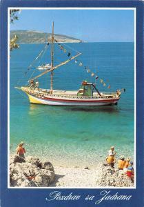 Croatia Pozdrav sa Jadrana Bateaux Ship Schiff