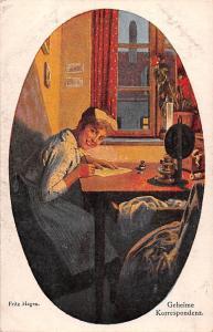 Austrian Fine Art, Fritz Hagen, Geheime Korrespondenz