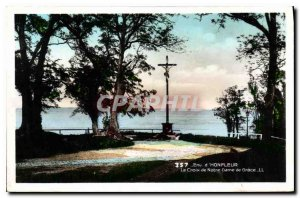 Postcard Old Honfleur Approx Cross of Our Lady of Grace