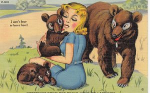 I can't BEAR to leave! , 1930-40s