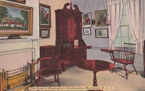 New Jersey Morristown Washington's Headquarters The Study
