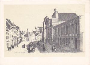Poland Warsaw Krakowski Przedmiescie by Franciszek Schuster