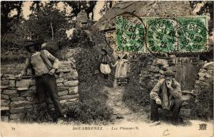CPA DOUARNENEZ - Les Plomarc'h (458035)