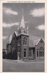 Texas Gainesville First Methodist Church