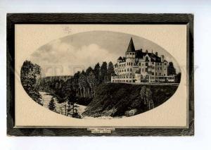 247213 FINLAND IMATRA Hotel Cascade Vintage embossed postcard