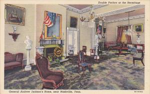 Interior The Hermitage General Andrew Jacksons Home Double Parlors Nashville ...