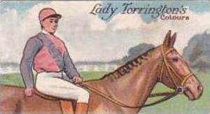 E & W Anstie Vintage Cigarette Card Racing Series No 18 Lady Torringtons Colo...