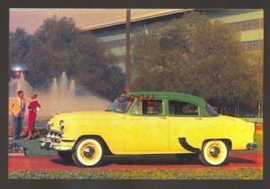 1954 CHEVROLET CAR DEALER ADVERTISING POSTCARD '54 CHEVY AUTOMOBILE CARS