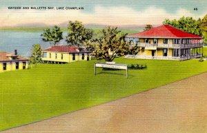VT - Lake Champlain. Malletts Bay, Bayside