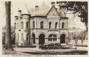 RP: HAMILTON , New York, 30-40s; Colgate University Library