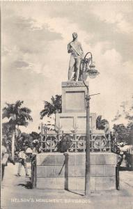 E46/ Barbados Foreign Postcard Caribbean c1910 Nelson's Monument 21