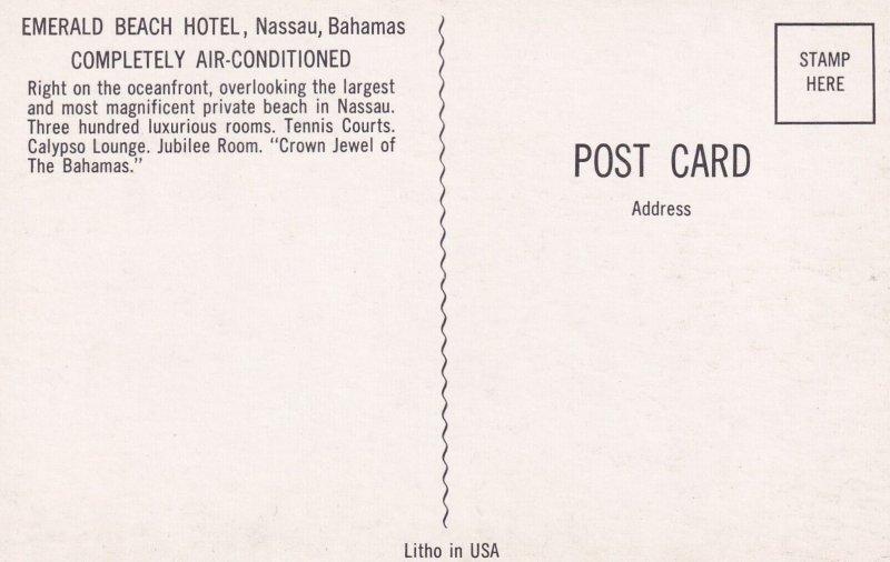 NASSAU, Bahamas, 1940s-Present; Emerald Beach Hotel