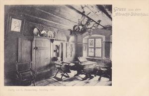 Interior, Gruss Aus Dem Albrecht-Durerhaus, NURNBERG (Bavaria), Germany, 1900...