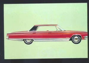 1966 CHRYSLER NEWPORT CAR DEALER ADVERTISING POSTCARD '66 MOPAR