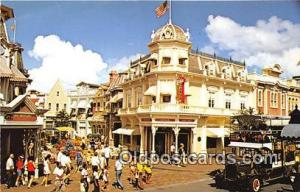 Main Street, USA Walt Disney World, FL, USA Postcard Post Card Walt Disney Wo...