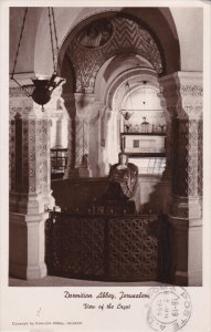 RP; JERUSALEM, Israel; Dormition Abbey, View of the Crypt, PU-1954
