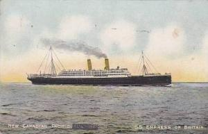 New Canadian Pacific, S.S. Empress of Britain, Ocean Liner, 10-20s