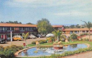 MOTEL SOUTHWARD HO San Diego, California Roadside Vintage Postcard ca 1940s