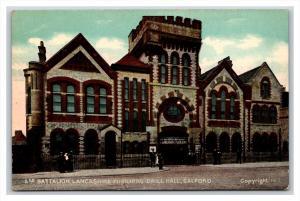 England Salford  Battalion Lancashire Fusiliers Drill Hall