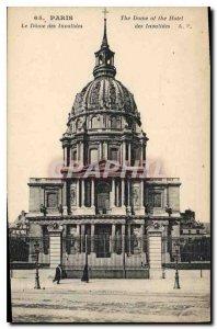 Postcard Old Paris Le Dome des Invalides