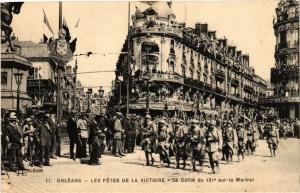CPA ORLÉANS-Les Fetes de la Victoire-Le Defile (266019)