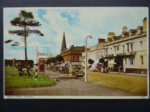 Cumbria SILLOTH Criffel Street c1950's Postcard by Harvey Barton 0502