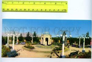 228787 Tajikistan Dushanbe Sadriddin Aini Mausoleum postcard